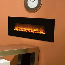 40 quot slim electric fireplace no heat model black