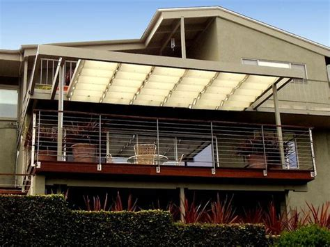 cable awnings and slide on wire canopies slide wire canopy superior awning inc southern california superiorawning com