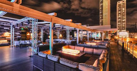 top bars miami head to these 7 miami rooftop bars for cocktails with a view