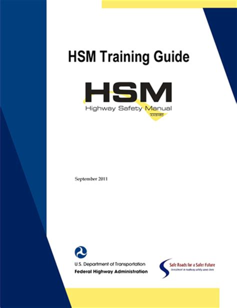 highway safety manual safety federal highway