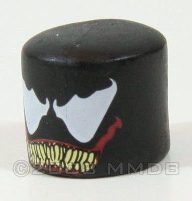 printable venom mask minimate database venom mask