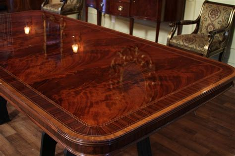 large dining room table high end american finished