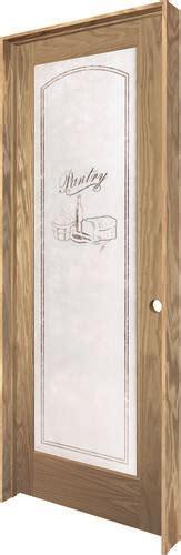 24 X 80 Pantry Door by Mastercraft 174 24 Quot X 80 Quot Veneered Oak Pantry Lite Prehung Interior Door Left Swing Into Pantry