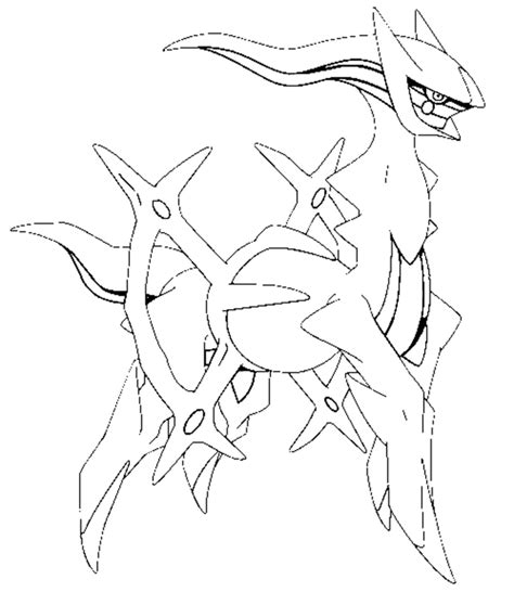pokemon arceus coloring pages images pokemon images