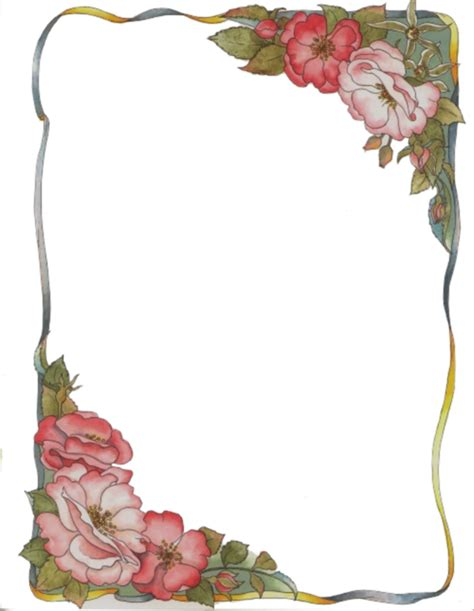 cornici con cornici con fiori disegni colorati cornici ed angoli gif e