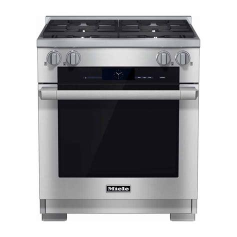 kitchen appliances portland or miele 30 quot dual fuel range hr1924df nw natural appliance
