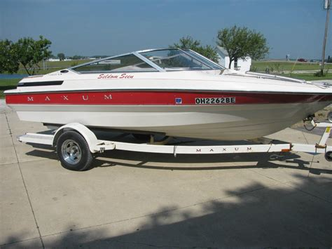 maxum boats models maxum 1800 sr boat for sale from usa