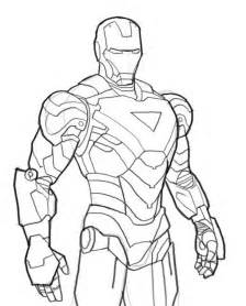 picture to color marvel ironman coloring pages womanmate