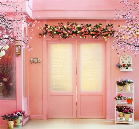 wedding backdrop aliexpress aliexpress buy 5x7ft indoor pink flower photography