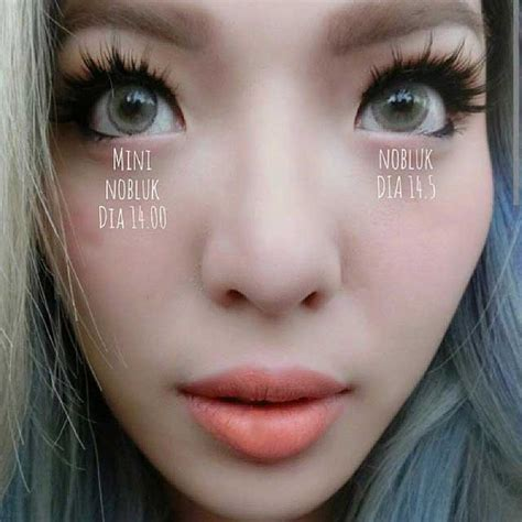 Cairan Softlens New Look mini nobluk big nobluk softlens