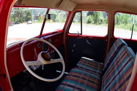 willys jeep truck interior willys jeep 6 226 wagon for sale at charity auction