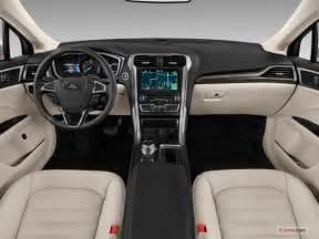 Ford Fusion Inside 2018 Ford Fusion Energi Interior U S News World Report