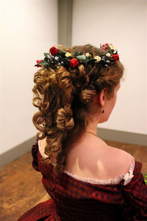 1860s hairstyles couture historique 1860s