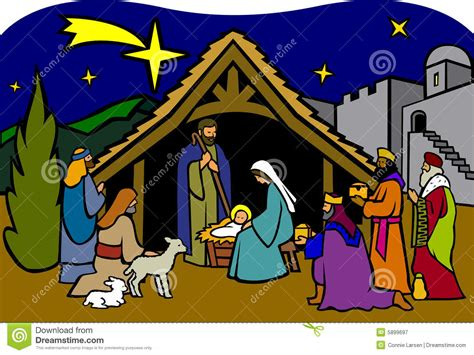 printable nativity images christmas nativity free clipart
