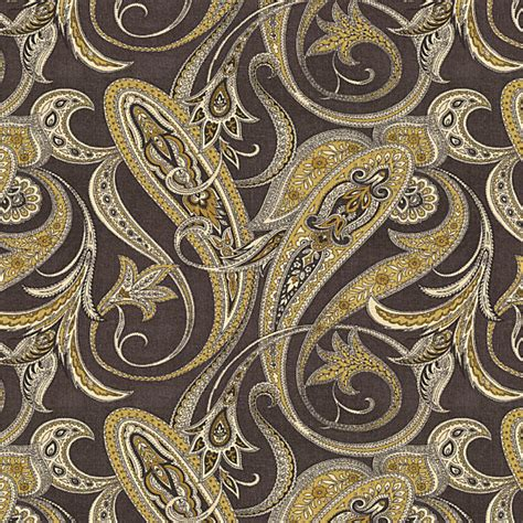 black and gold curtain fabric black and gold paisley linen fabric contemporary