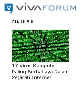 membuat virus komputer paling berbahaya wow ini dia 19 virus komputer paling berbahaya dalam