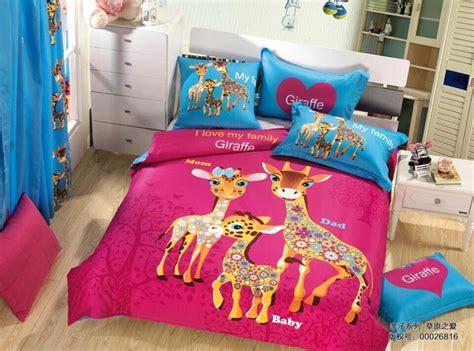 deer in bedroom cute giraffe bedding set quilt duvet covers sheets kids deer bed in a bag bedroom 100