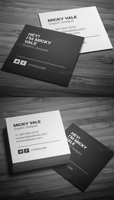 2x2 business card template 25 best ideas about square business cards on