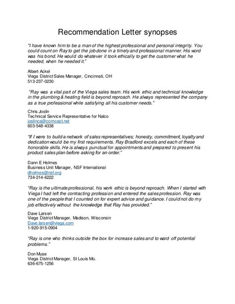 Letter Of Recommendation Integrity recommendation letter summaries 2 10 2016
