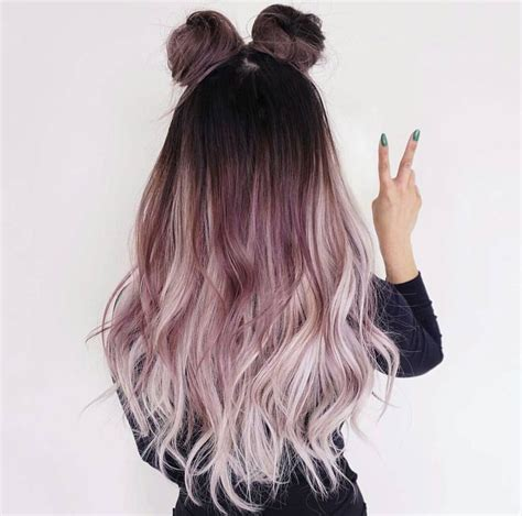 awesome rockin hairstyle and color ombre to light