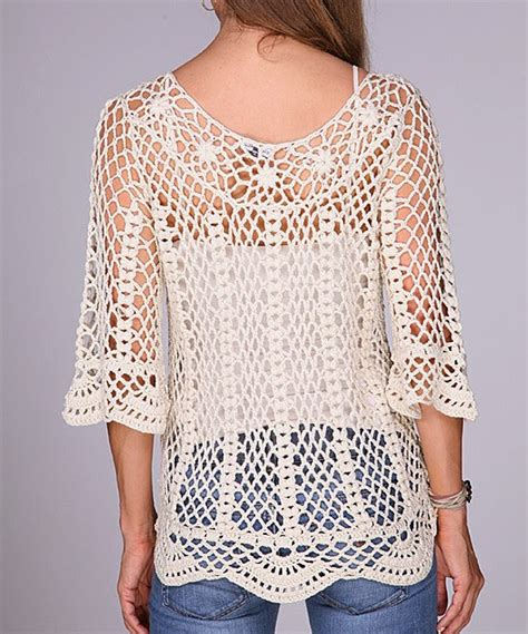 Como Tejer Chompa D Verano | crochetemoda blog blusa de crochet