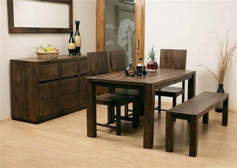 Dining Room Awesome Saving Spaces Dining Room Side Table Design Of Wooden Dining Table And Chairs