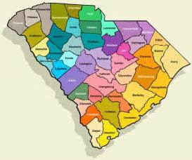 maps south carolina county map