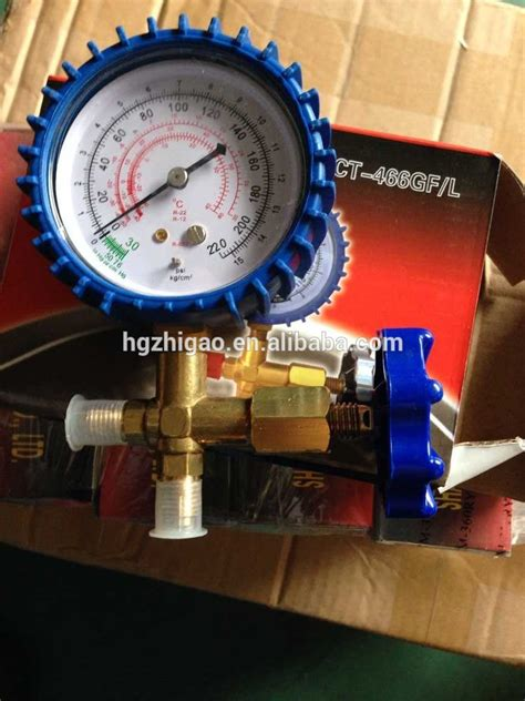 Single Manifold Ct 466 R 22 refrigeration single testing manifold ct 466gf l view qingxin product details from