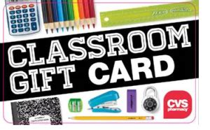 Cvs E Gift Card - ヾ ノcvs classroom gift ᗔ card card promotion exciting back to to