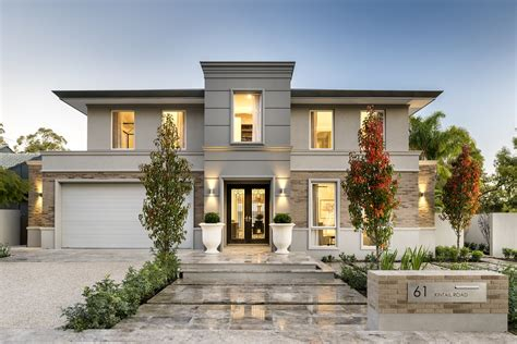 Home Design the toorak display home applecross webb brown neaves