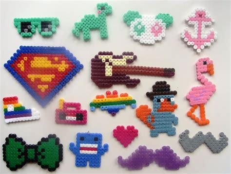 things to do with perler perler stuff 1 by izzytheragdoll on deviantart