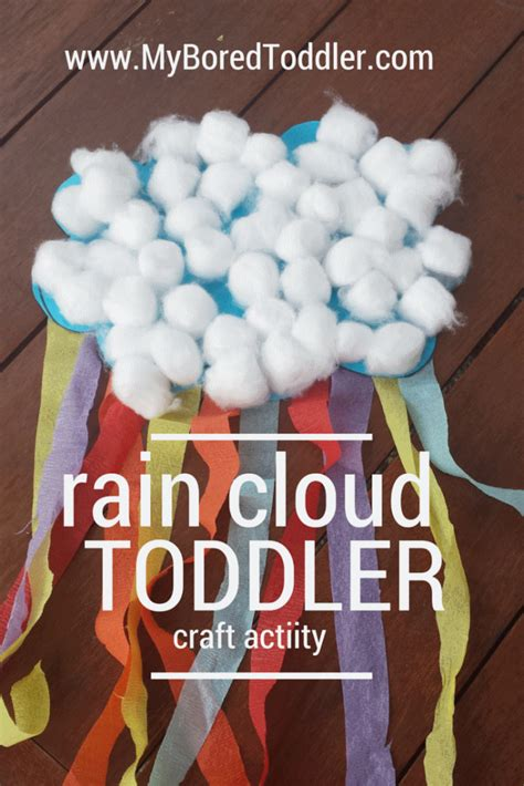 craft activities for toddlers cloud toddler craft my bored toddler