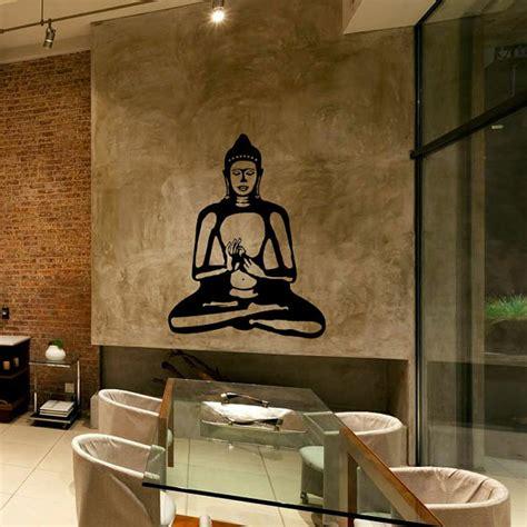 buddhist home decor buddha wall decal cute vinyl sticker home arts wall decals