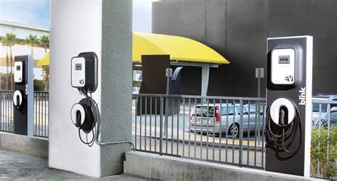 Electric Vehicle Charging Stations Miami Electric Car Charging Stations Blink And They Re Late