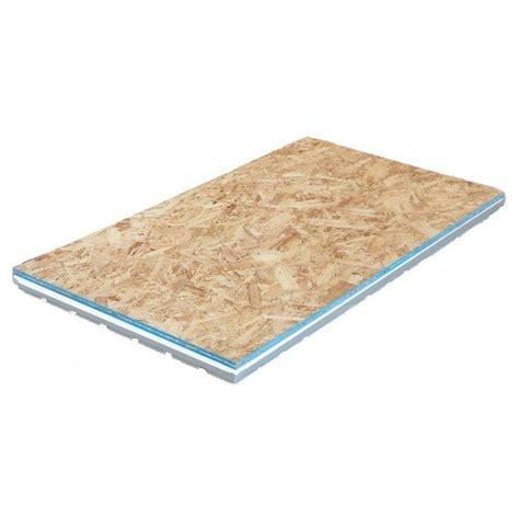2 09 in x 2 ft x 4 ft osb insulated r7 subfloor panel