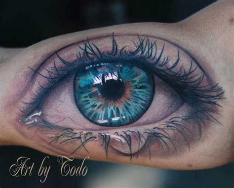 blue eye tattoo 34 astonishingly beautiful eyeball tattoos