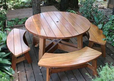 round wooden picnic bench best 25 round picnic table ideas on pinterest picnic tables wood work table and