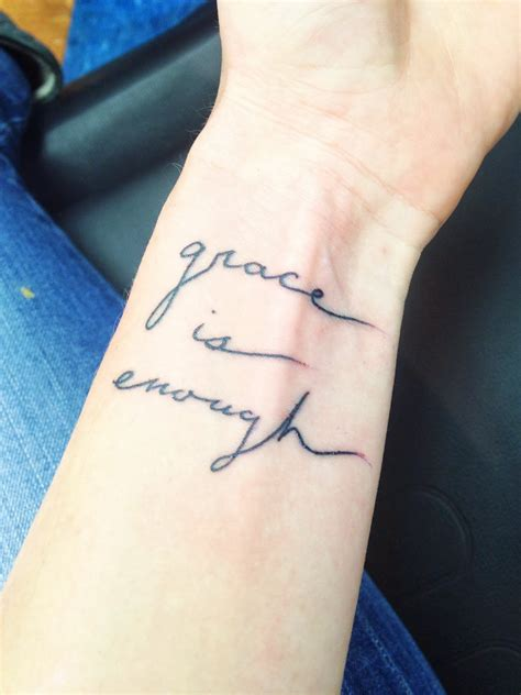 grace tattoos 14 amazing enough wrist tattoos