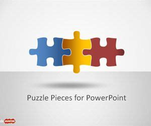 Free Puzzle Piece Shapes For Powerpoint Free Powerpoint Templates Slidehunter Com Free Puzzle Powerpoint Template