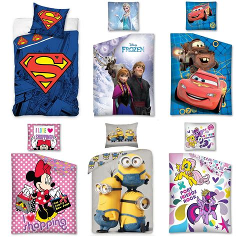 cotton on kids bedroom 100 cotton disney and character single duvet cover sets