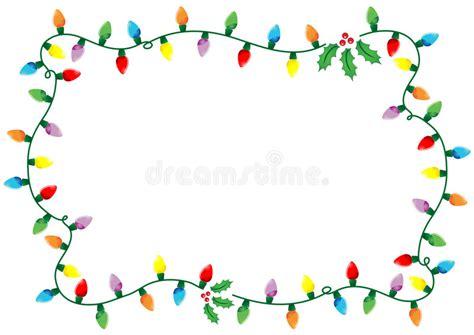 blinking christmas lights border free lights frame stock vector illustration of energy 3425836