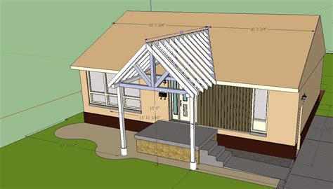 Adding Roof Existing Deck - add a porch roof to an existing roof