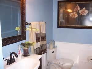 Blue and brown bathroom decorating ideas 363 blue and brown