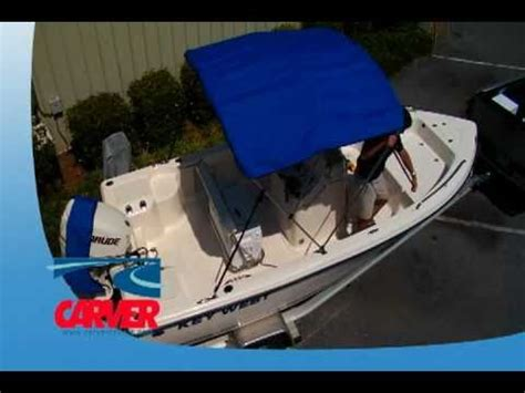 installing bimini top on boat how to install a bimini top on your boat youtube