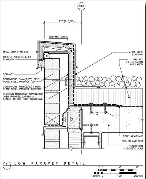 brick curtain wall detail boake brick parapet jpg 752 215 918 curtain wall