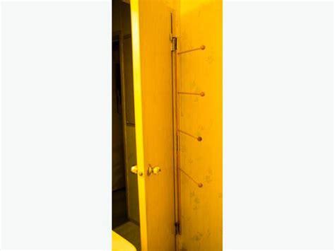 Door Hinge Towel Rack by Towel Rack Hides Towels Door Easily Mounts On Door