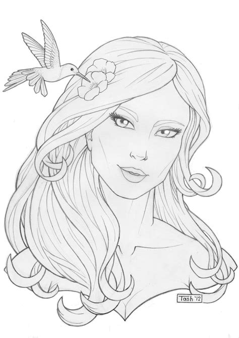 aphrodite coloring pages