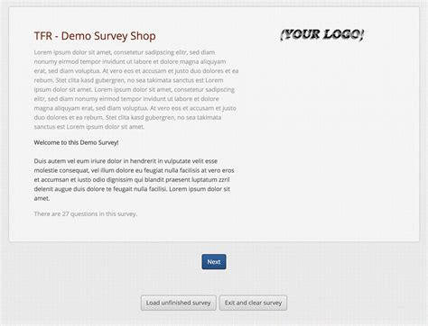 survey template free letter of release template sle
