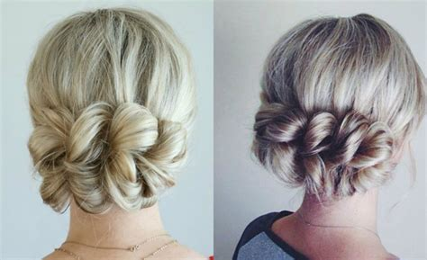Pull Back Hairstyles by Pulled Back Braid Hairstyles Hairstyles