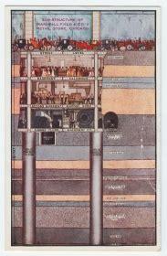 chicago postcard museum marshall field  company